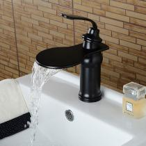 Fashion-Single-Handle-One-Hole-Oil-rubbed-Bronze-Bathroom-Sink-Faucet