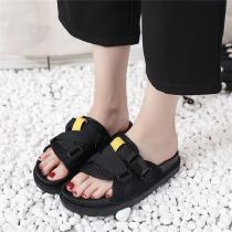 Soft-Flat-Bottom-Slippers-Casual-Buckle-Sandals-Summer-Shoes-For-Women