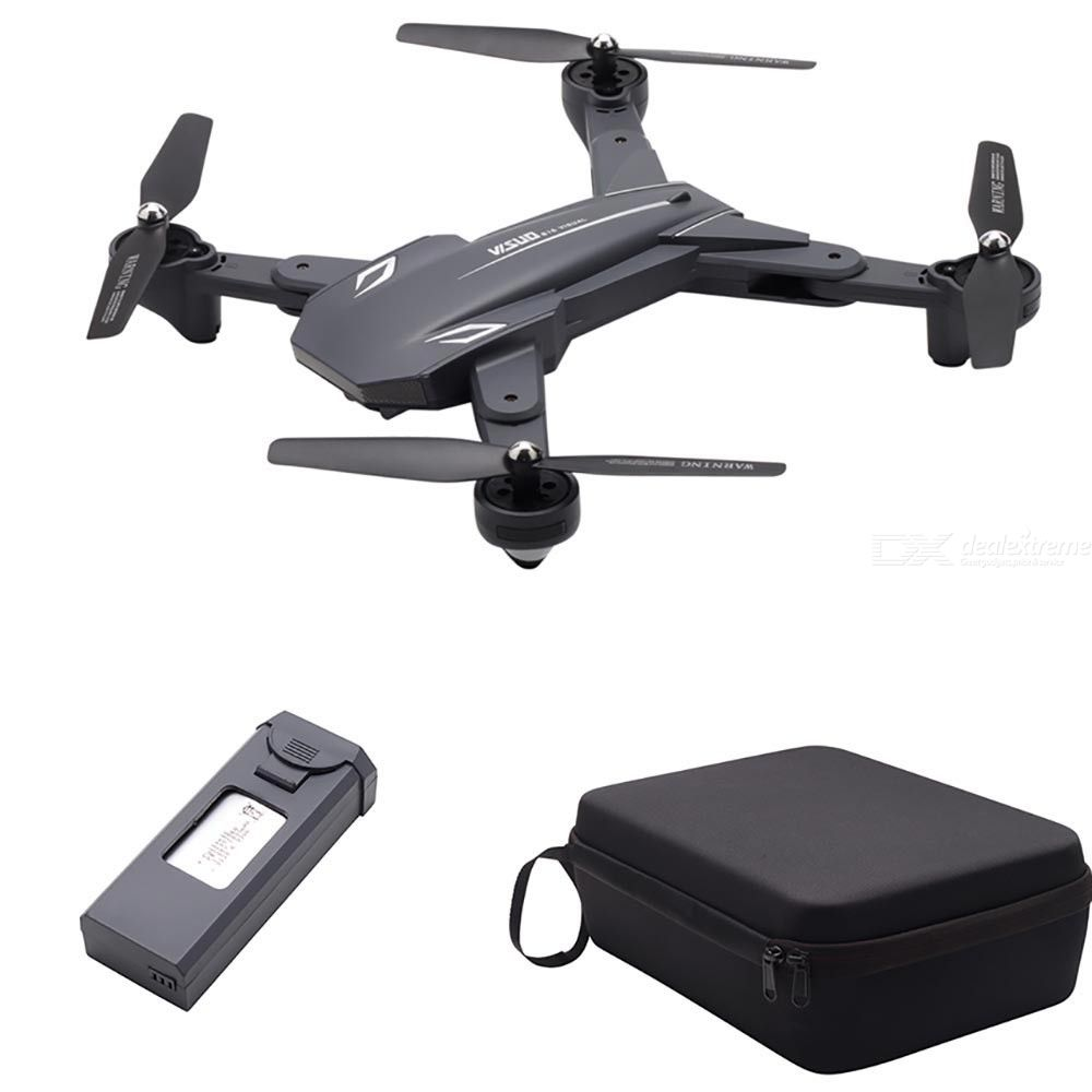 XS816 Foldable Quadcopter Dual Camera WiFi RC Drone Toy With Handbag