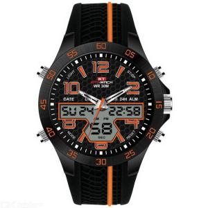 KAT-WACH Mens Sports Watch Outdoor Military Wristwatch With LED Backlit 30m Water Resistance