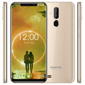 OUKITEL C12 3G Mobile phone 6.18 inch Large Screen Ultra-thin Android 8.1 2GB RAM 16GB ROM Cellphone with 3300mAh Battery Face U