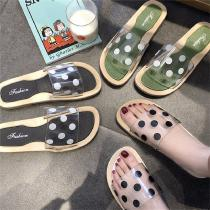 Womens-Slide-Sandals-Casual-Dot-Slippers-With-Anti-skid-Sole