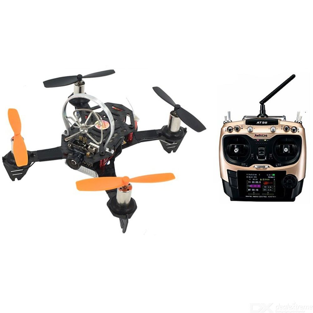 Micro Racing Drone RC Quadcopter Dron with Built-in T8FB Flight Controller R8FM Receiver for Beginner