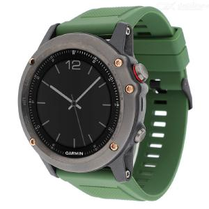 22mm Width Quick Release Replacement Silicone Strap for Garmin Fenix 5 Watch Band Quick Fit Wristband