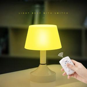 Mini LED Nightlight Smart Eye-caring Book Light With 10 Brightness Levels 3 Auto Timers Remote