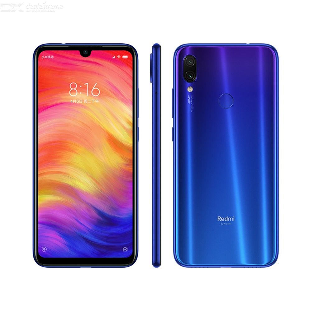 Global Version Xiaomi Redmi Note 7 4GB RAM 64GB ROM Smartphone Snapdragon660 4000mAh FHD 48MP Dual Camera Cellphone