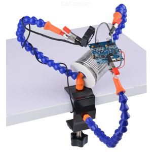 Multi Function Soldering Helping Hands 3 Flexible Arm Clip PCB Board Holder Tool