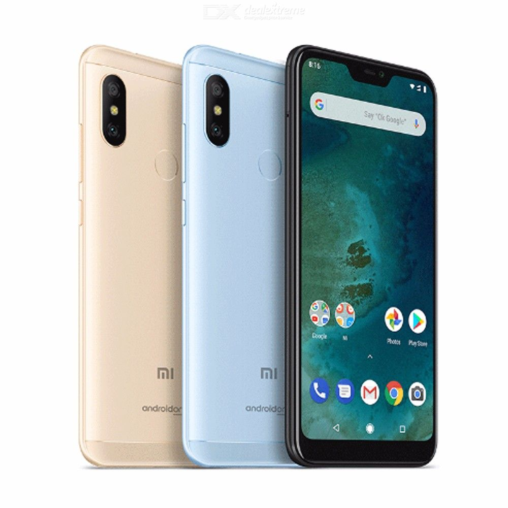 Global Version Xiaomi Mi A2 Lite 3GB 32GB Mobile Phone 5.84 Inch Full Screen Snapdragon 625 12MP Dual Camera Android 8.1