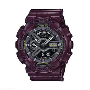 Casio G-Shock GMA-S110MC-6A Metallic Color Series Ana-Digi Watch - Burgundy