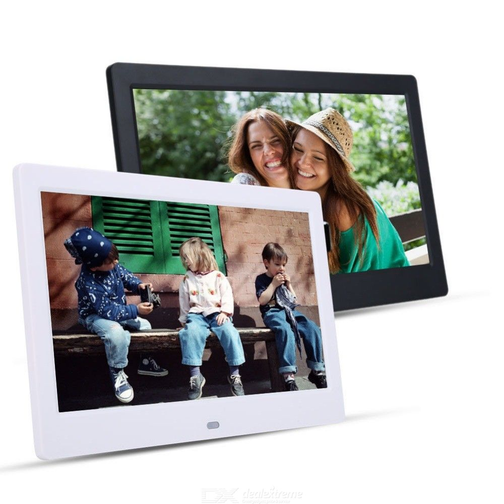 10 inch Digial Photo Frame Electronic Album Photo Music Video - from $43.41