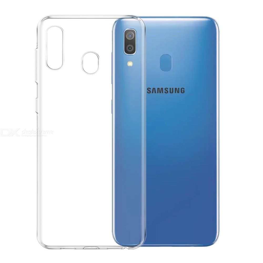 Ultra-thin Soft TPU Back Cover Case for Samsung Galaxy A30 Phone Protection