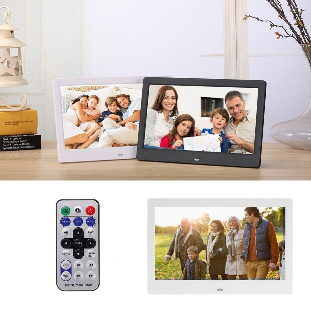 12 inch Digial Photo Frame Electronic Album Photo Music Video - from $58.83