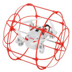 HAPPYCOW Flying And Wall Climbing R/C Aircraft Toy W/ 360 Degree Tumble