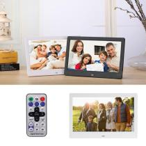 New 7 Inch High-Res Digial Photo Frame, Electronic Album Picture with Music Video
