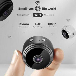 Mini Hidden Camera 1080P HD Wireless Surveillance With Motion Detection Night Vision