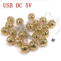 Yellow-10W-3M20-Hollow-Ball-LEDs-Light-String-Waterproof-Indoor-or-Outdoor-Lamp-for-Holiday-Party-Lighting-Decoration
