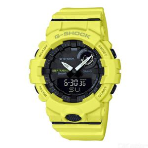 Casio G-Shock GBA-800-9A Bluetooth Step Tracking Watch Sports Quartz Wristwatch For Men - Yellow
