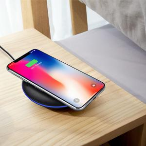 Cwxuan Qi Wireless Charger Station for iPhone X 8 Fast Wireless Charging for Samsung Galaxy S7 S8 S9 Note 8 Mix 2S Huawei