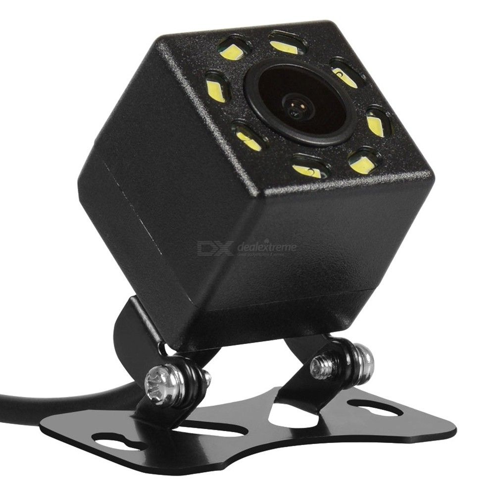 ZIQIAO ZHS-012 8 LED Night Vision Wide Angle HD Color Image Waterproof Universal Backup Parking Reverse Camera
