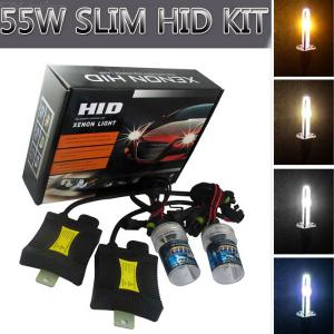H3 55W 3158lm Car HID Xenon Lamps W/ Ballasts Kit (Pair)