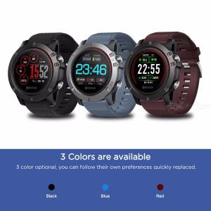 Zeblaze VIBE 3 ECG 122 Inch Smart Watch Fitness Tracker With Heart Rate Monitor Sports Mode Message Alert