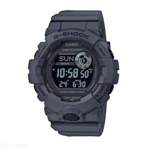 Casio G-Shock GBD-800UC-8 Bluetooth Step Tracking Watch With Resin Strap - Gray