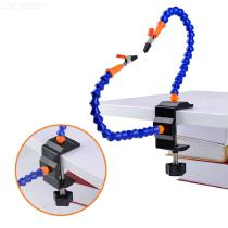 Helping-Hands-2-Metal-Flexible-Arms-Alligator-Clip-PCB-Board-Holder-Fan-For-Mobile-Phone-Motherboard-Repair-Fixture-Jig