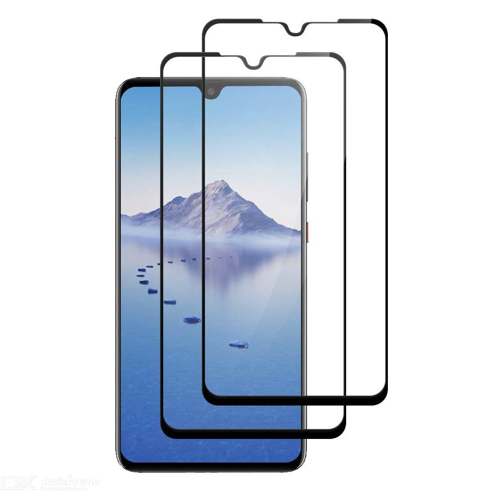 2Pcs Naxtop 2.5D Full-glue Tempered Glass Screen Protector Film  for Huawei P30