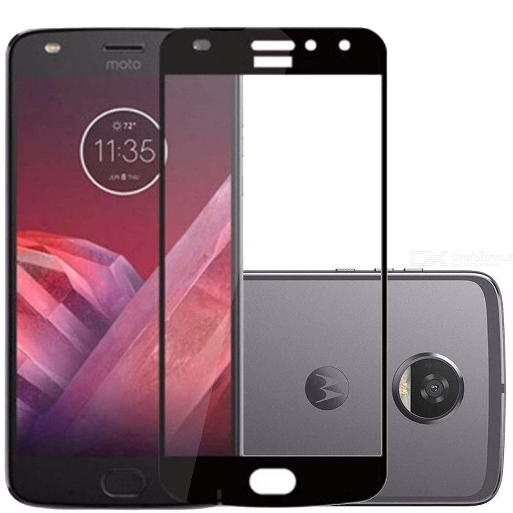 Naxtop 2.5D Tempered Glass Screen Protector Scratch Proof Film for Moto Z2 Play