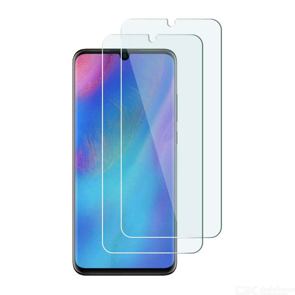 2Pcs Naxtop 2.5D Tempered Glass Screen Protector Film for Huawei P30