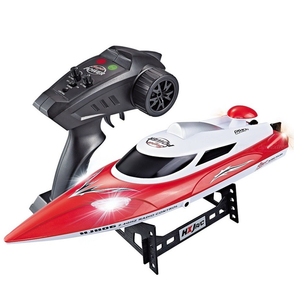 HJ806 RC Boat 35KM/H 200m Remote Control Distance 2.4G High Speed Yacht Fast Ship With Cooling Water System