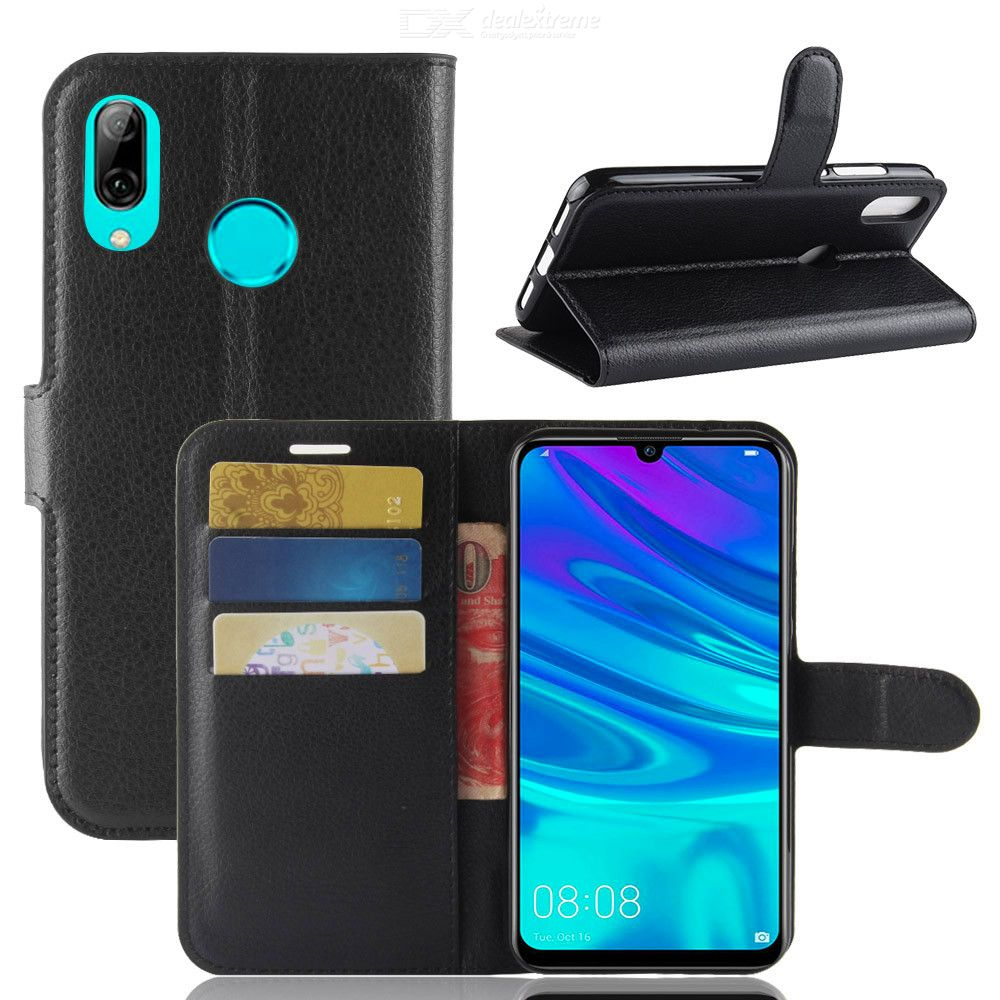 Phone Wallet Case Flip Cover Holder for Huawei Y7 2019 / Y7 prime (2019)  Protection