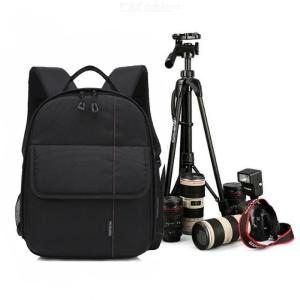 Camera Backpack Waterproof Carrying Bag For DSLR Camera Lens And Accessories