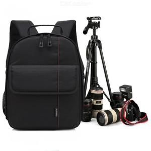 Camera Backpack Waterproof Large Capacity Carrying Bag For DSLR Camera Lens And Accessories