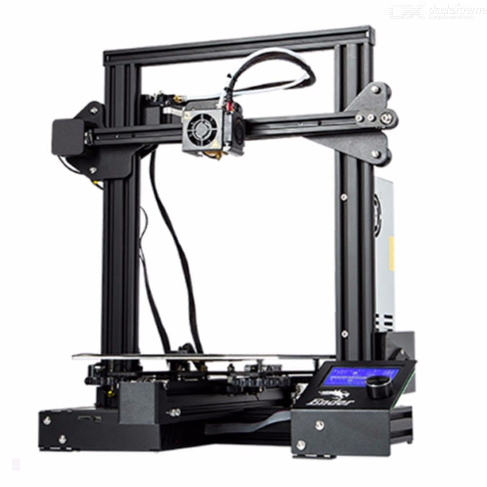 Creality 3D Ender3 PRO 3D Printer Upgraded Cmagnet Build Plate Resume Power Failure Printing Mean Well Power Supply