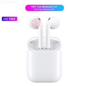 I12 TWS Bluetooth 50 Earbuds True Wireless Bluetooth Stereo Earphones
