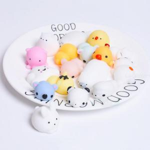 Random Animal Squeeze Toy Soft Cute Mochi Squishy Toy