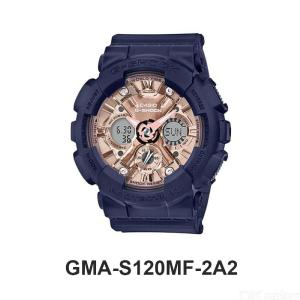Casio G-shock GMA-S120MF-2A2 Relógio Digital Preto + Ouro Rosa
