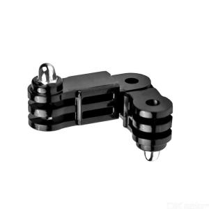 Sports Camera for Gopro Hero 7 6 5 4 3+ Long + Short 2in1 Straight Joint Link Mount Adapter Accessories Small Link for SJCAM