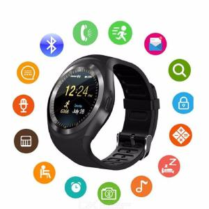 Bluetooth Y1 Smart Watch Relogio Android Smart  Watch with Phone Call  Function
