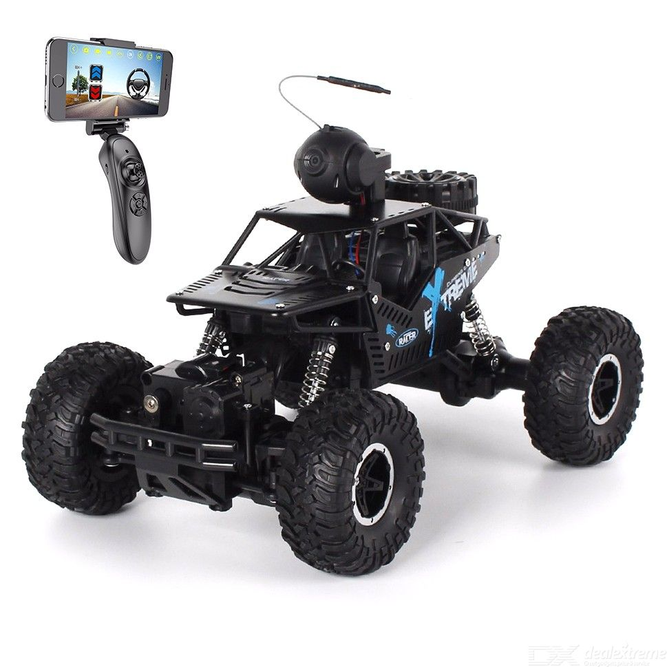 2.4G Climbing Car Mobile Phone Controlled Off-road Remote Control Toy Car and Video Real-time Transmission High-speed Car