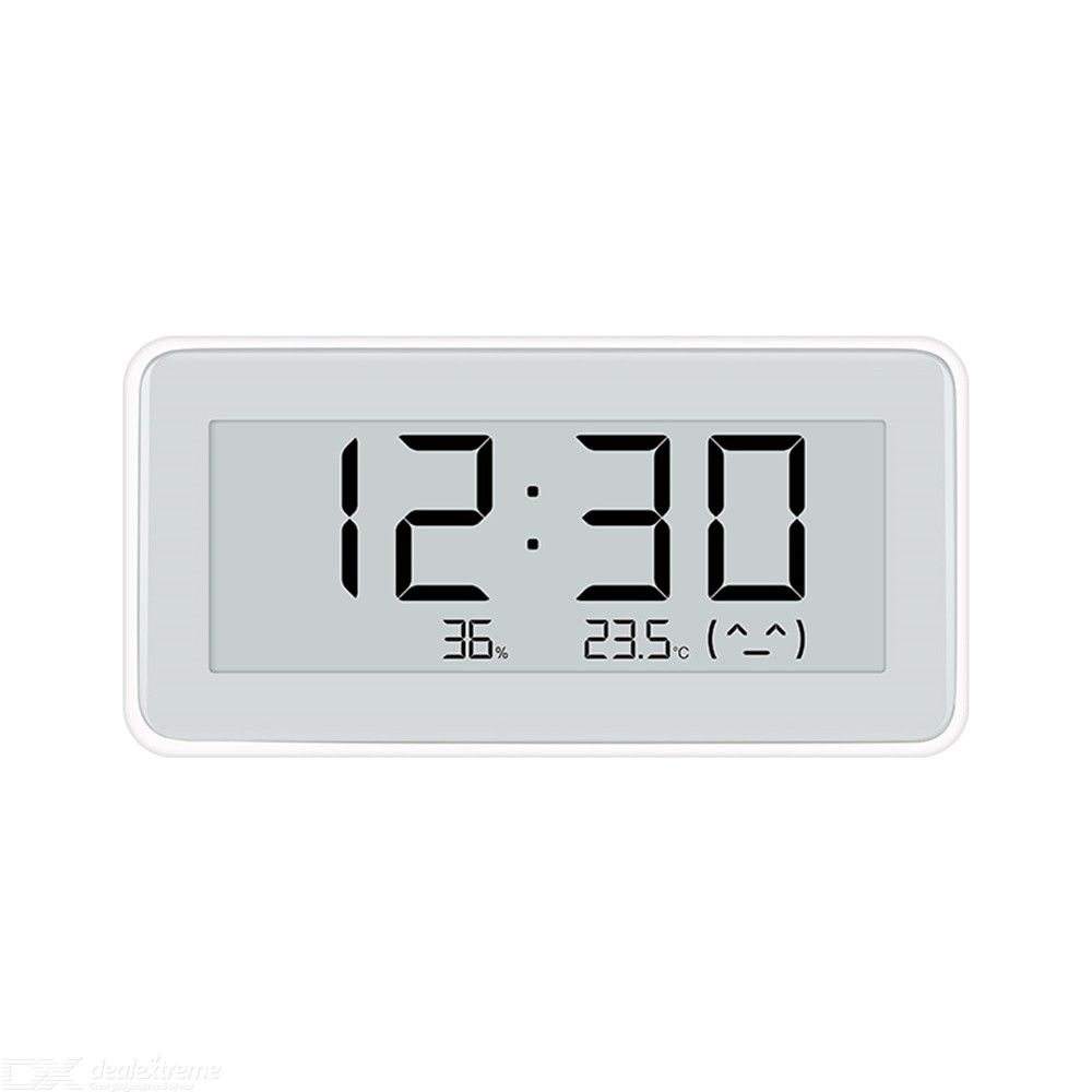 Xiaomi Mijia Digital Thermometer Hygrometer E-ink Display Ink Screen Accurate Sensitivity 3 Placement Types