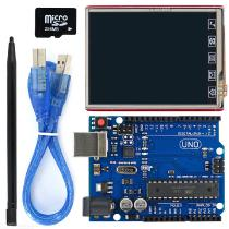 28quot-TFT-LCD-Touch-Screen-LCD-Shield-Kit-w-TF-card-UNO-R3-for-Arduino