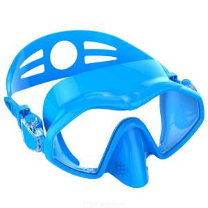 Silicone Swim Goggles Anti-Fog Wide Vision Diving Snorkeling Mask With Adjustable Band