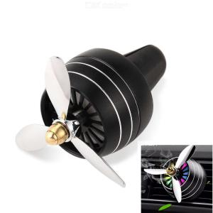 Car Perfume Air Freshener Outlet Vent Clip Car Ornaments Perfumes Diffuser with 3 Propeller Shape