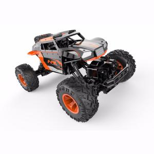 2.4GHz Off-Road Remote Control Truck Alloy Rock Crawler Car for Kids