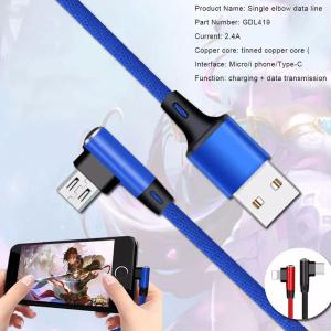 1m Micro USB Cable Android, Nylon Braided Fast Charging Charger Cable For Android Smartphone