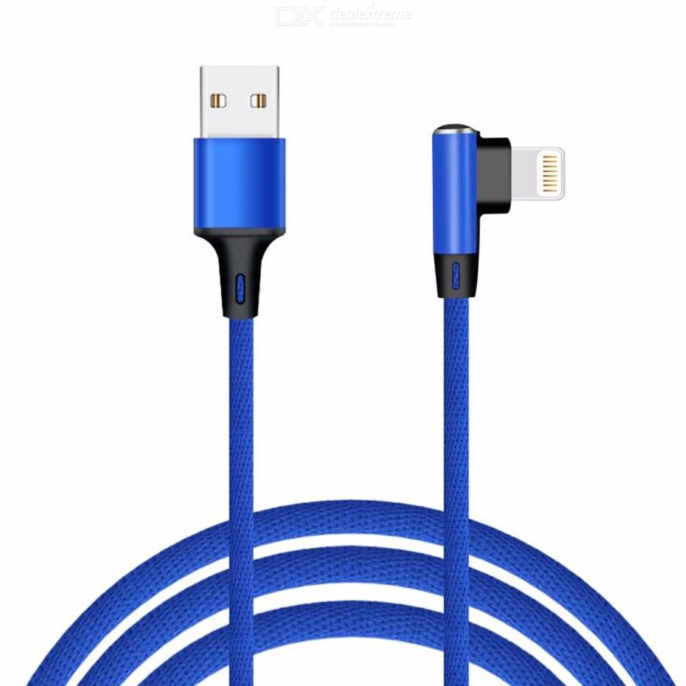 1M Lightning Cable, Nylon Braided Fast Charging Charger Cable For iPhone XXr876PlusS iPad