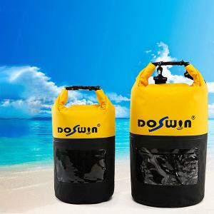 Outdoor Sports Dry Bag Waterproof Drifting Bags With Shoulder Straps For Beach  Boating  Kayaking  Swimming