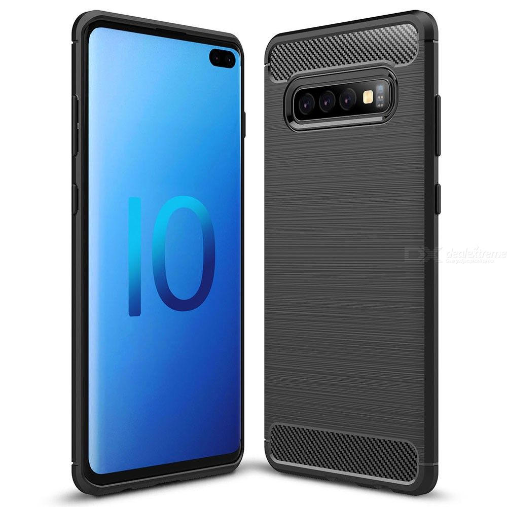 asling solid color phone case for samsung galaxy s10 plus back cover protection